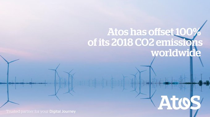 To offset our CO2 emissions, we are investing in an ongoing wind farms project...