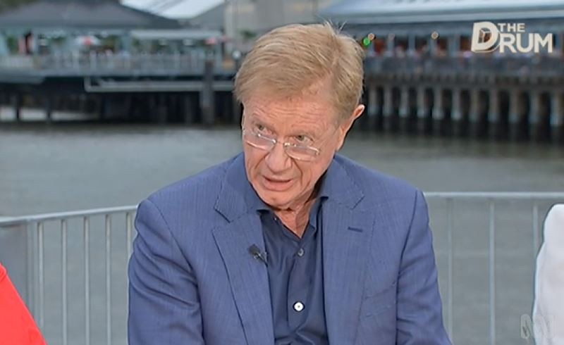 """""""They talk about &quot;We&#39;re back in surplus.&quot; No, we&#39;re not back in surplus. Politicians make promises that are going to be delivered 8-10 years from now. People have trouble enough believing promises within one term, let alone two or three terms."""" Kerry O'Brien #auspol  #TheDrum<br>http://pic.twitter.com/fzyntFApin"""