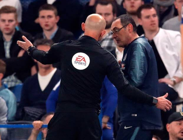 Maurizio Sarri faces a hefty fine after being charged by the FA for his bust-up with Burnley on Monday night. #CFC<br>http://pic.twitter.com/Oo2js3y1tV