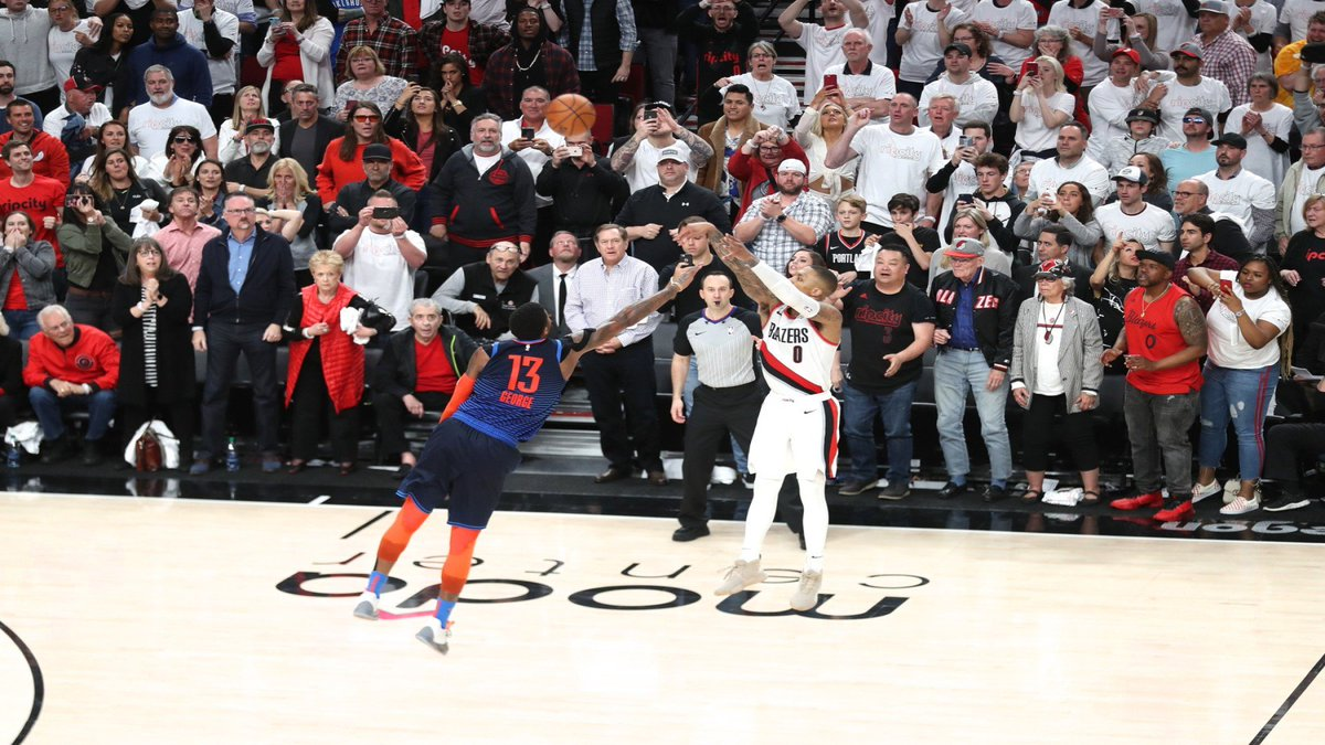 Here is your ultimate @Dame_Lillard game winning shot compilation video #ripcity