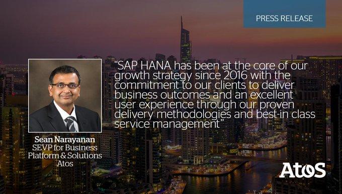 📣 Fiers d'être positionné comme #leader dans les services #SAP #HANA et S/4 HANA...