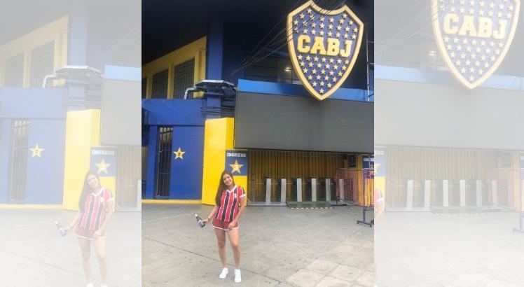 Tricolor leva as cores do Santa Cruz para a Argentina: