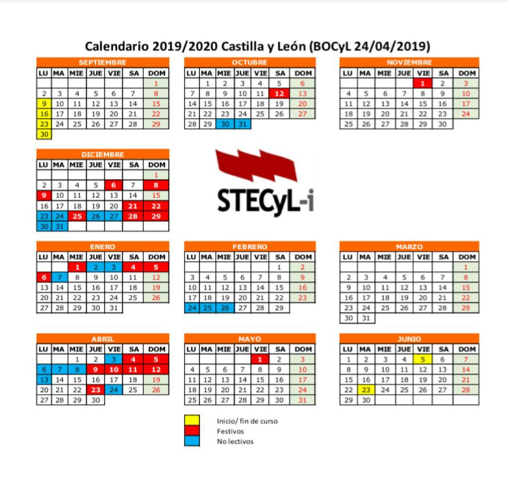 Calendario Escolar 18 19 Cyl.Stecylinforma Tagged Tweets And Downloader Twipu