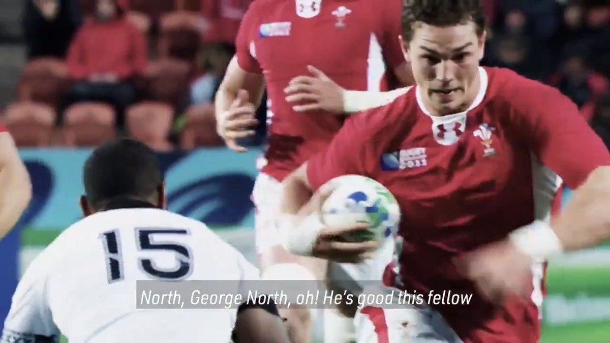 test Twitter Media - A veteran of two World Cups and still just 27 years of age, @WelshRugbyUnion star @George_North reflects on his #RWC experiences so far... https://t.co/ZGKx77tV2K