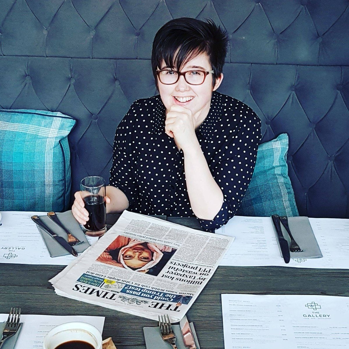 Lyra McKee&#39;s funeral service will be held today at 1.00pm to celebrate her life, comfort those grieving and to state, in the words of Lyra&#39;s partner, Sara, that &#39;her death should not be in vain&#39;. More details here:  https:// bit.ly/2DuTP1C  &nbsp;    #bproud2019  #NotInMyName  #ItGetsBetter <br>http://pic.twitter.com/lRAHeo0XXf