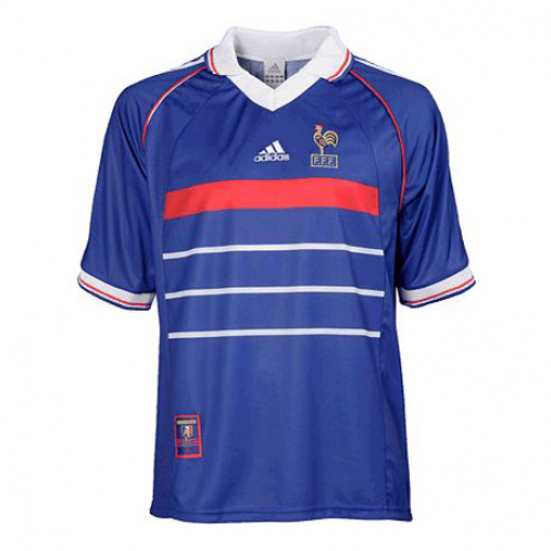 d36edcd7932 With the special significance of the World Cup, the 1998 France Retro Home  Blue Soccer jersey became a classic in French fans' heart.pic.twitter.com/  ...