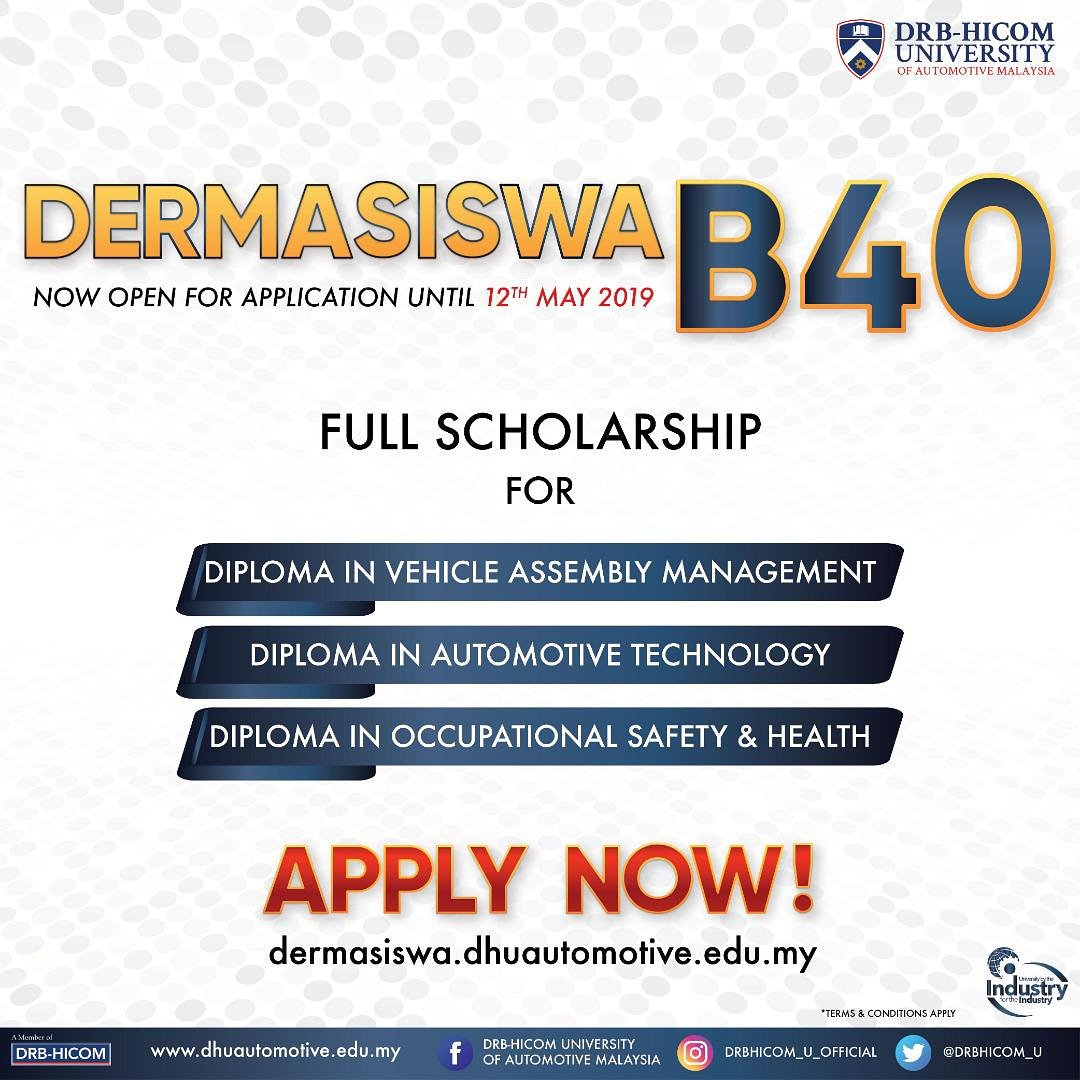 Drb Hicom U Official On Twitter Apply Now At Https T Co
