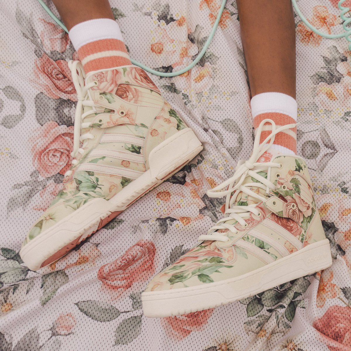 a7474897da4e The floral embellished capsule arrives in adidas stores and online at  http   adidas.com EricEmanuel from April 25th.pic.twitter.com PVSoLVZq9h