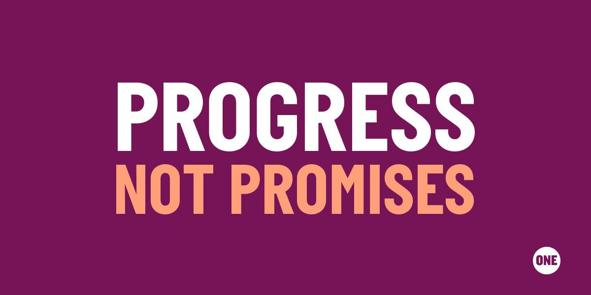 Hey .@OPIC2X! I'm one of 130,000+ people who are standing with activists from across the African continent. We're counting on you to make #ProgressNotPromises for girls & women at #G7France http://bit.ly/2DTQZ6h  @ONEinAmerica