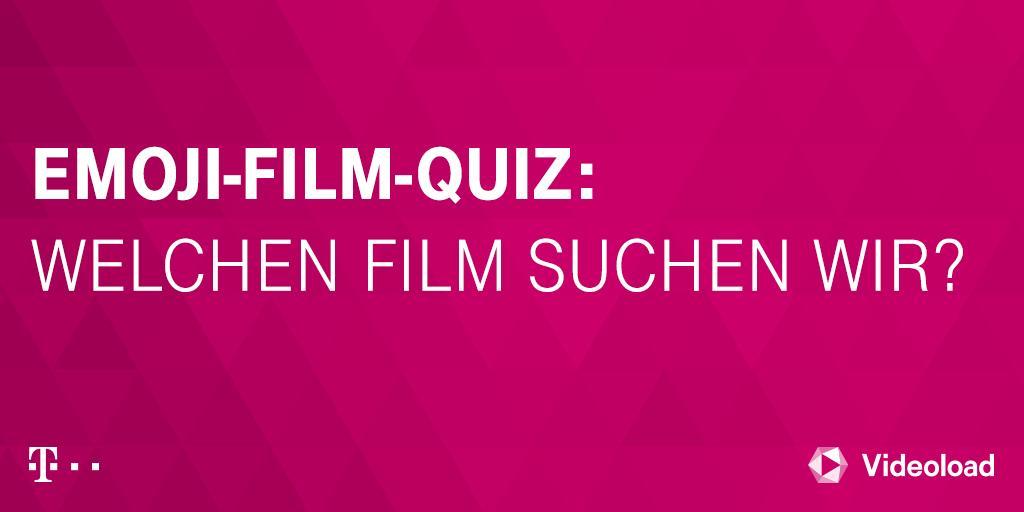 Social Media Post: Welchen Film suchen wir? 🤔 #emojiquiz #MagentaTV 👦‼️➡️🚶♂️🌬️...