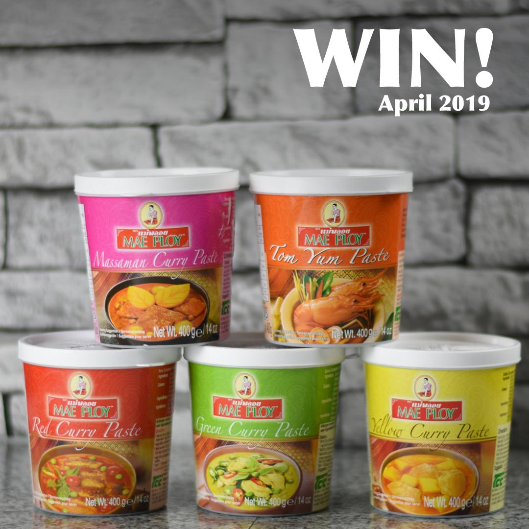 FOLLOW &amp; RT to enter our #competition...  You could #WIN a selection of Mae Ploy Curry Pastes! They&#39;re great added to soups, stir fries and more.  #WinItWednesday<br>http://pic.twitter.com/d83q968iH5