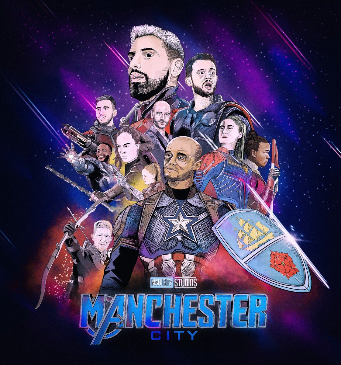 Manchester City's photo on #MUNMCI