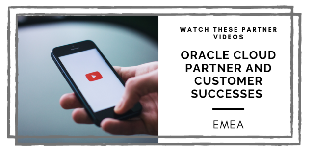 WATCH these insightful @Oraclepartners videos, as #emeapartners share their implementation successes, Cloud case studies &amp; vital experiences. Learn from their @OracleCloud Partner &amp; Customer Successes in EMEA: #emeapartners @Oracleemeaps @fjtorres  http:// bit.ly/2W5p2PZ  &nbsp;  <br>http://pic.twitter.com/cHGuC1W8ib
