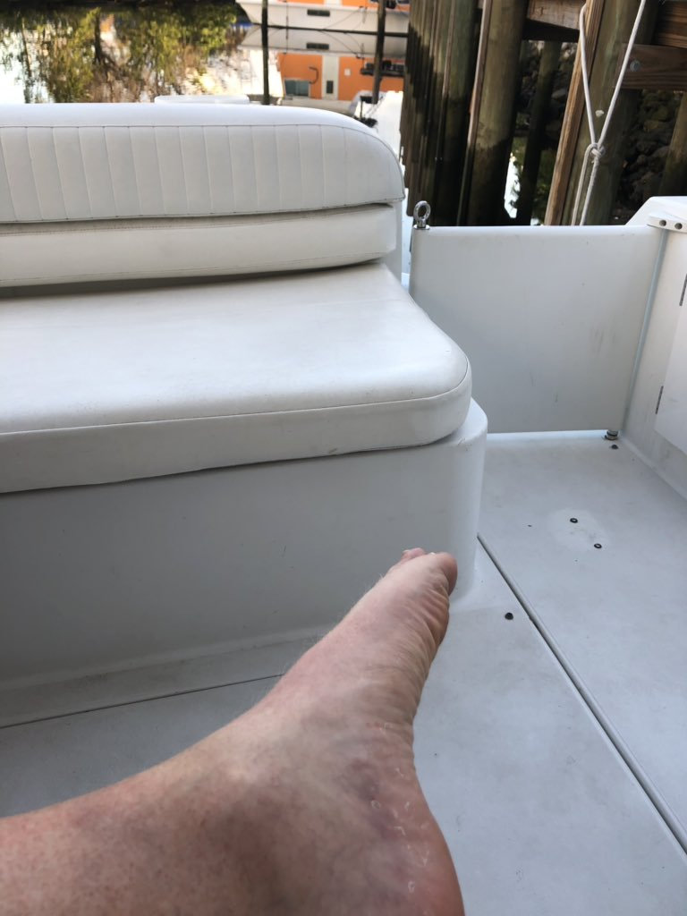 On a boat no socks needed @AgentRodCook #sockgame <br>http://pic.twitter.com/JTaMol6ckW