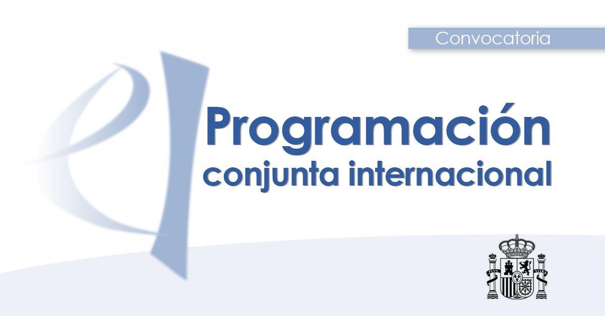 🚩 Hoy se abre la convocatoria de las ayudas de Programación Conjunta Internacional 2019.  Financia a los equipos de investigación españoles que hayan concurrido con éxito a convocatorias trasnacionales conjuntas.  🗓️ Hasta el 9 de mayo  ➡️ http://bit.ly/2W2FYa7
