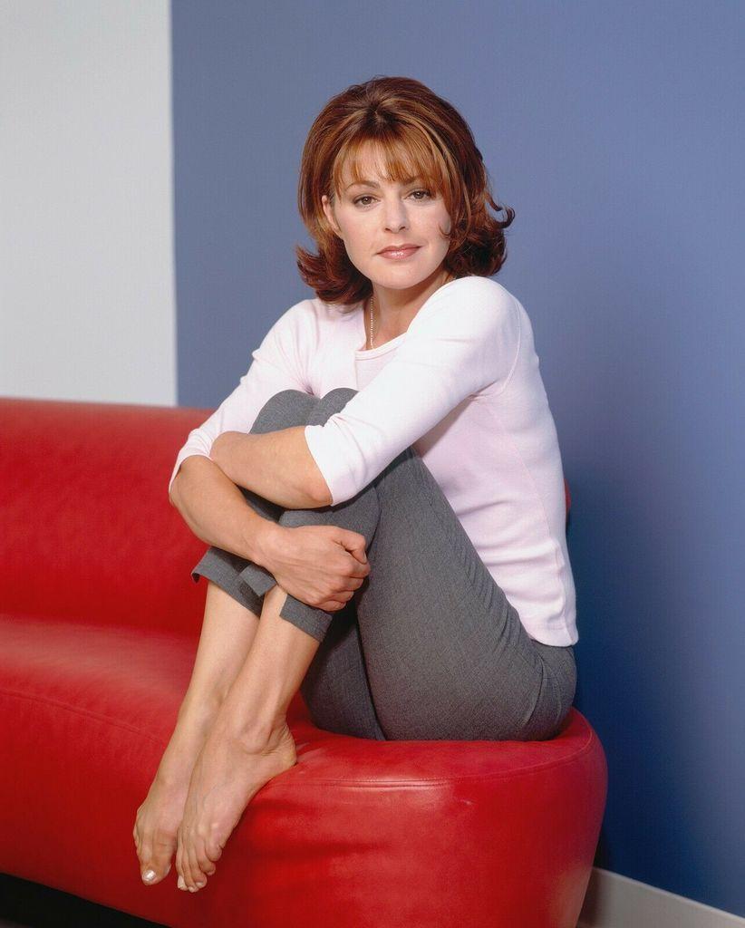 Jane Leeves Feet