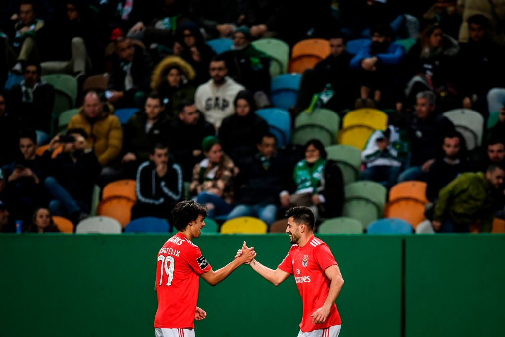 Pizzi ➡️ Joao Felix: Is the best assist-to-goalscorer combination in Liga NOS this season, returing 5⃣ goals wscrd.co/LigaNOS