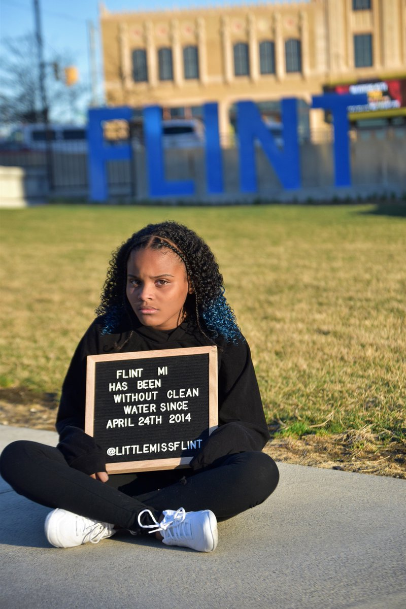 FIVE YEARS Flint, Michigan has been without clean safe water for FIVE YEARS #FlintWaterCrisis #Flint #FlintKids #DontForgetFlint