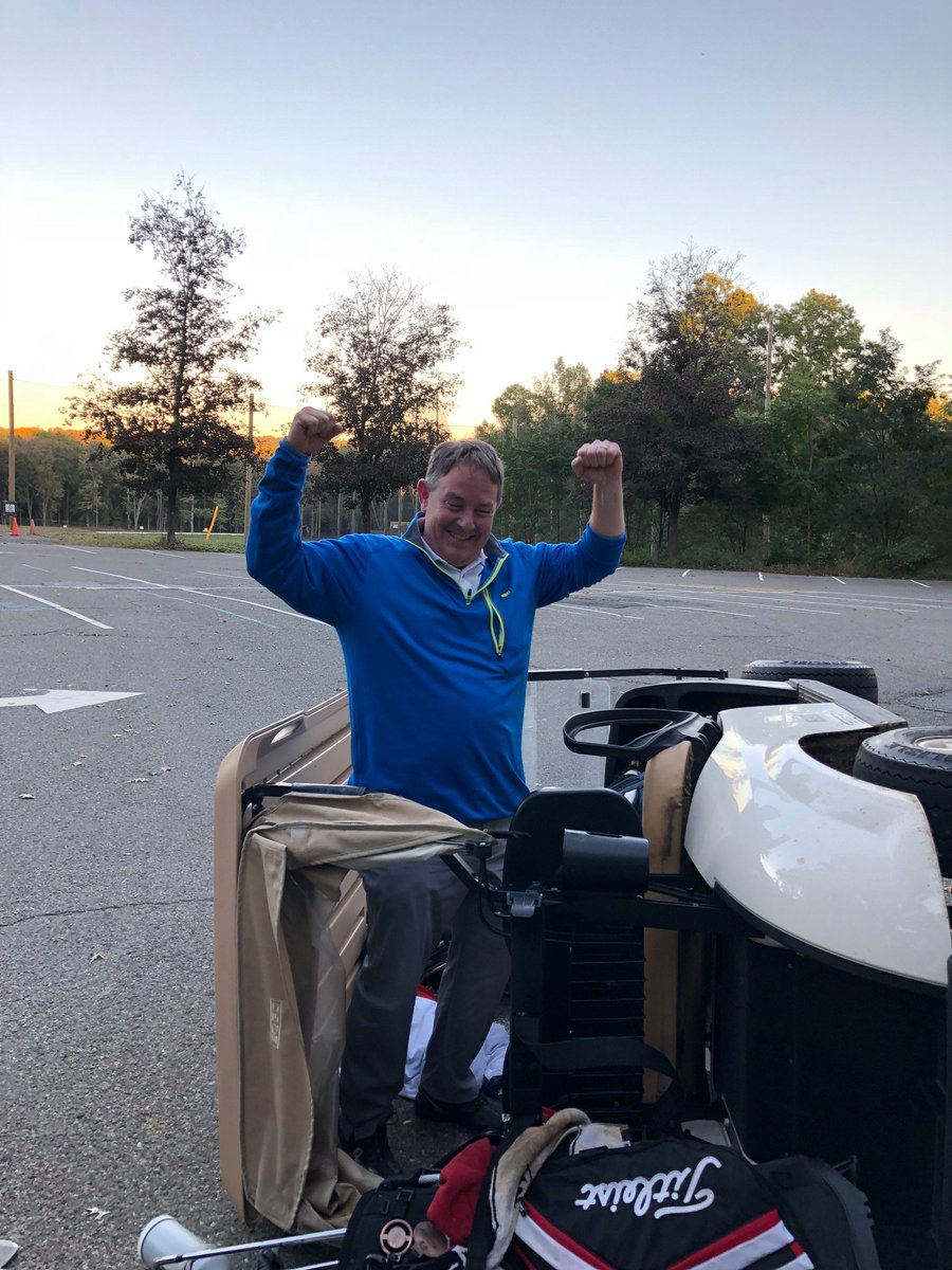 @GolicAndWingo Holed out from 90 yards on 18 to win the match.  i was then bet double or nothing that I couldn&#39;t shotgun a beer while driving the cart down the hill to the parking lot with the governor off.  I did finish the beer.  #WingoCupContest <br>http://pic.twitter.com/fwPaEXrMbX