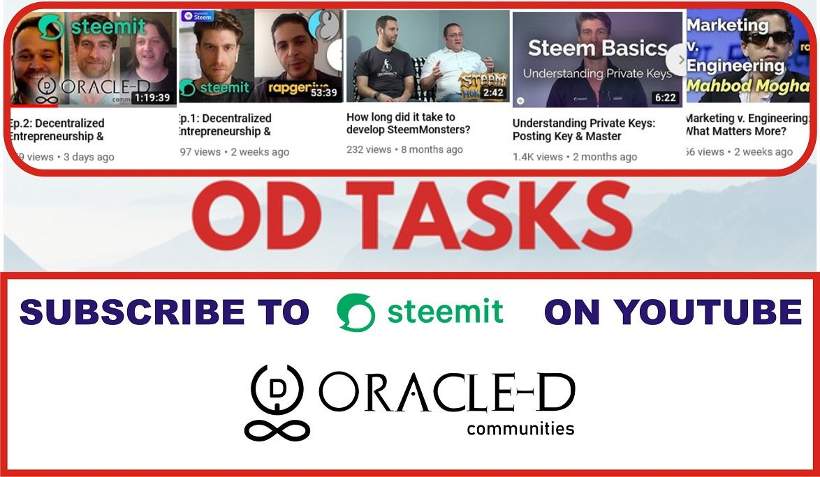 You can learn from the stories of successful people like @Oracle_D_com, @SteemMonsters. Simply watch their videos on @steemit's youtube channel https://www.youtube.com/channel/UCszdL-p-oxFW9xQyXT9mkWw?sub_confirmation=1 … #steem #business