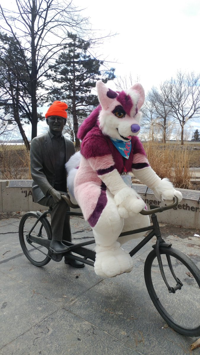 They see me rollin&#39;..... #fursuit #furryfandom #furry #fursuiting <br>http://pic.twitter.com/vy1JRMTFqr
