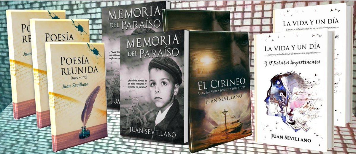 #LibrosRecomendados ¡Ven a disfrutar de la buena #Literatura! ¡Entra en el apasionante universo #literario de Juan Sevillano y emprende un viaje del que volverás cambiado! https://www.amazon.es/s/ref=sr_nr_p_lbr_books_authors__0?fst=as%3Aoff&rh=i%3Aaps%2Ck%3AJuan+Sevillano%2Cp_lbr_books_authors_browse-bin%3AJuan+Sevillano&keywords=Juan+Sevillano&ie=UTF8&qid=1539883877&rnid=2564054031… … … … …pic.twitter.com/Zva5UYgsgM