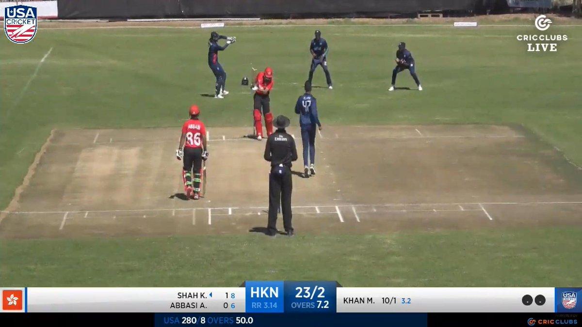 Usa Cricket On Twitter Ali Khan What A Beauty He