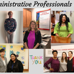 Image for the Tweet beginning: Celebrating #AdministrativeProfessionalsDay today! We thank