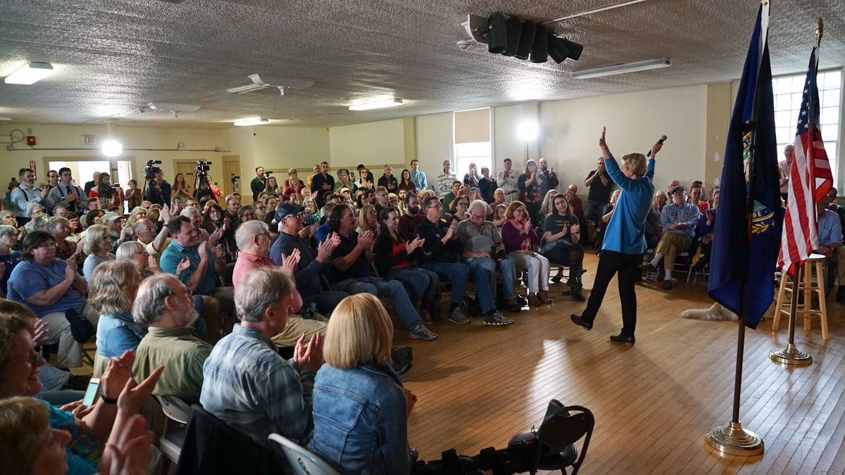I'm grateful for the conversations we had in Keene and Weare last weekend about the future of our country. We're going to do this together!
