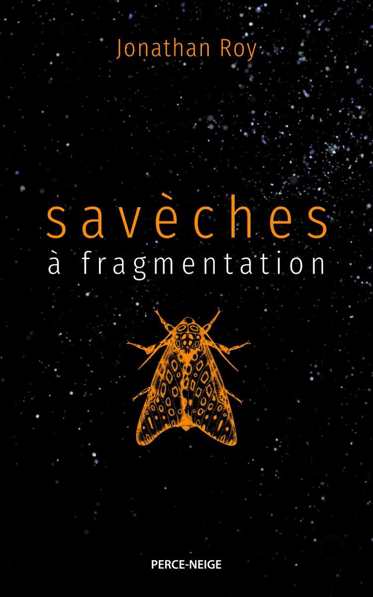 Dans son recueil de #poésie «Savèches à fragmentation» paru chez @EdPerceNeige, l'auteur acadien Jonathan Roy fait un retour aux sources pour échapper au chaos qui envahit notre quotidien. «C'est une espèce d'aliénation contemporaine.»  https://refc.ca/90-saveches-a-fragmentation-de-jonathan-roy/…
