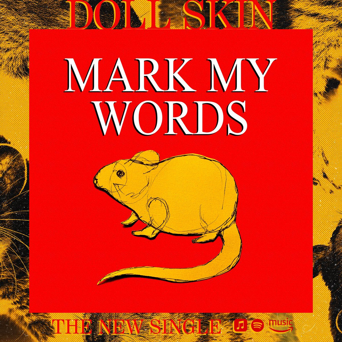 "Mark My Words is a testament to women in books and films that inspire us. For example, a majority of these lyrics are influenced by Lisbeth Salander in ""The Girl With The Dragon Tattoo"". It's also about the anger that a person can hold inside after being assaulted by another.  <br>http://pic.twitter.com/A362wNb5mA"