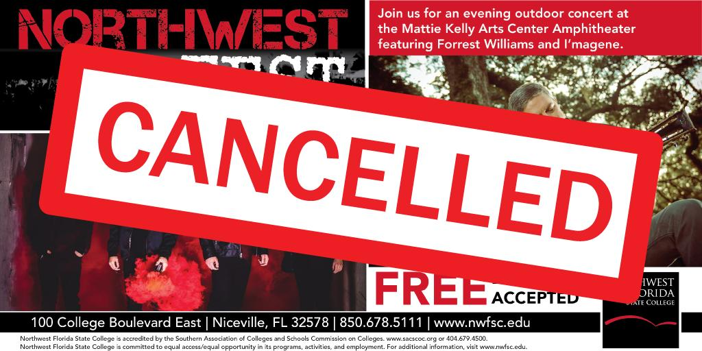 Unfortunately, Northwest Fest is cancelled due to inclement weather.
