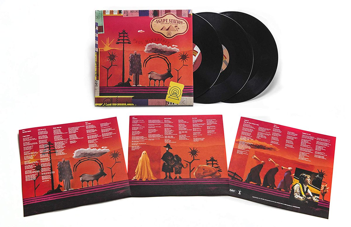 "Paul McCartney anuncia ""Egypt Station - Explorer's Edition"", em CD Duplo, LP Triplo e com faixas extras"