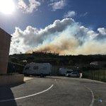 Image for the Tweet beginning: 24.4.2019. Der erste Buschbrand im Dorf. Dieses