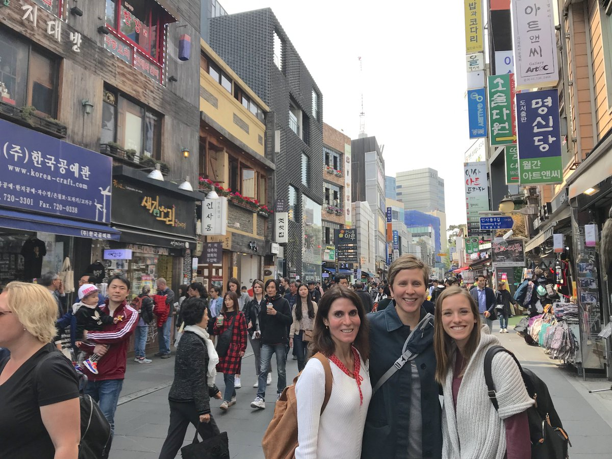 What's better than traveling to a new city or country and exploring it?  Being able to enjoy it with friends. @Havenlust   #WednesdayWisdom #WednesdayMotivation #wednesdaythoughts #travel #Korea #Health #Friendship #TwitterFriends #vacation #stressless #IAM