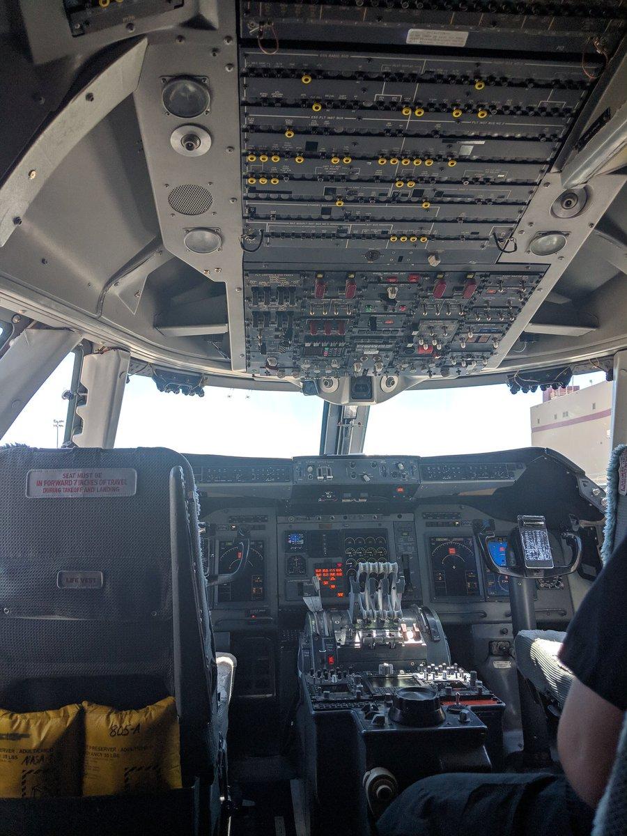 @SOFIAtelescope Flight Deck #NASASocial