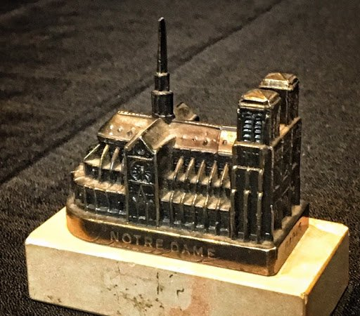 Get a sneak peek at our new Souvenir Buildings Collection with a special display on our first floor #notredame https://www.nbm.org/collections/20th-century-souvenir-buildings/…