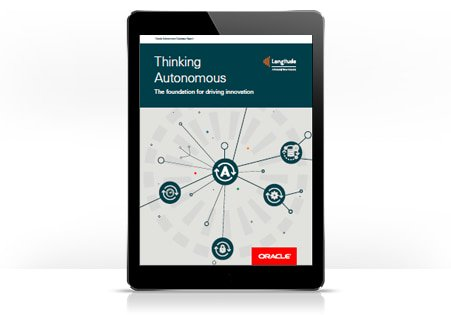 """#Data is what differentiates your organization from your competitors. That's why utilizing intelligent #automation is more important than ever. Read our """"Thinking #Autonomous: The foundation for driving innovation"""" report to know more #OracleConsulting  http:// ora.cl/Ry6b6  &nbsp;  <br>http://pic.twitter.com/cmFiJMuKGe"""