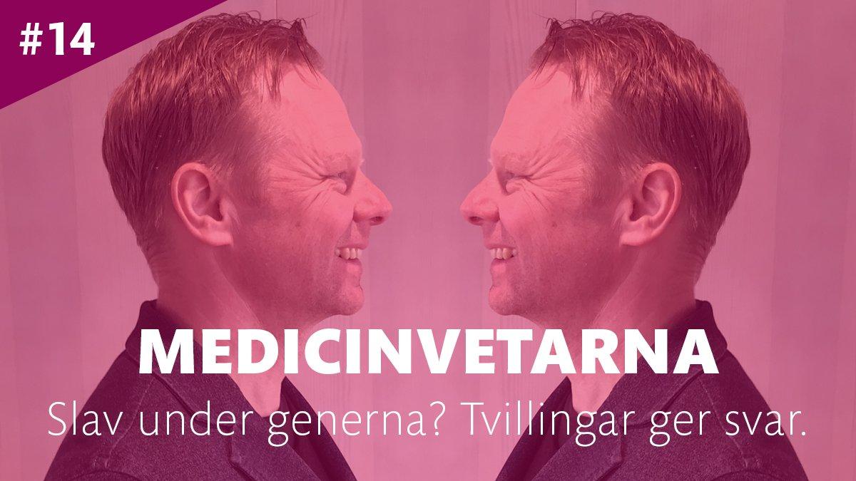 I senaste avsnittet av KI:s podcast Medicinvetarna berättar Patrik Magnusson, forskare i genetik och chef för Svenska Tvillingregistret, om vad tvillingar kan lära oss om arv och miljö.  Lyssna på http://ki.se/medicinvetarna eller där poddar finns.