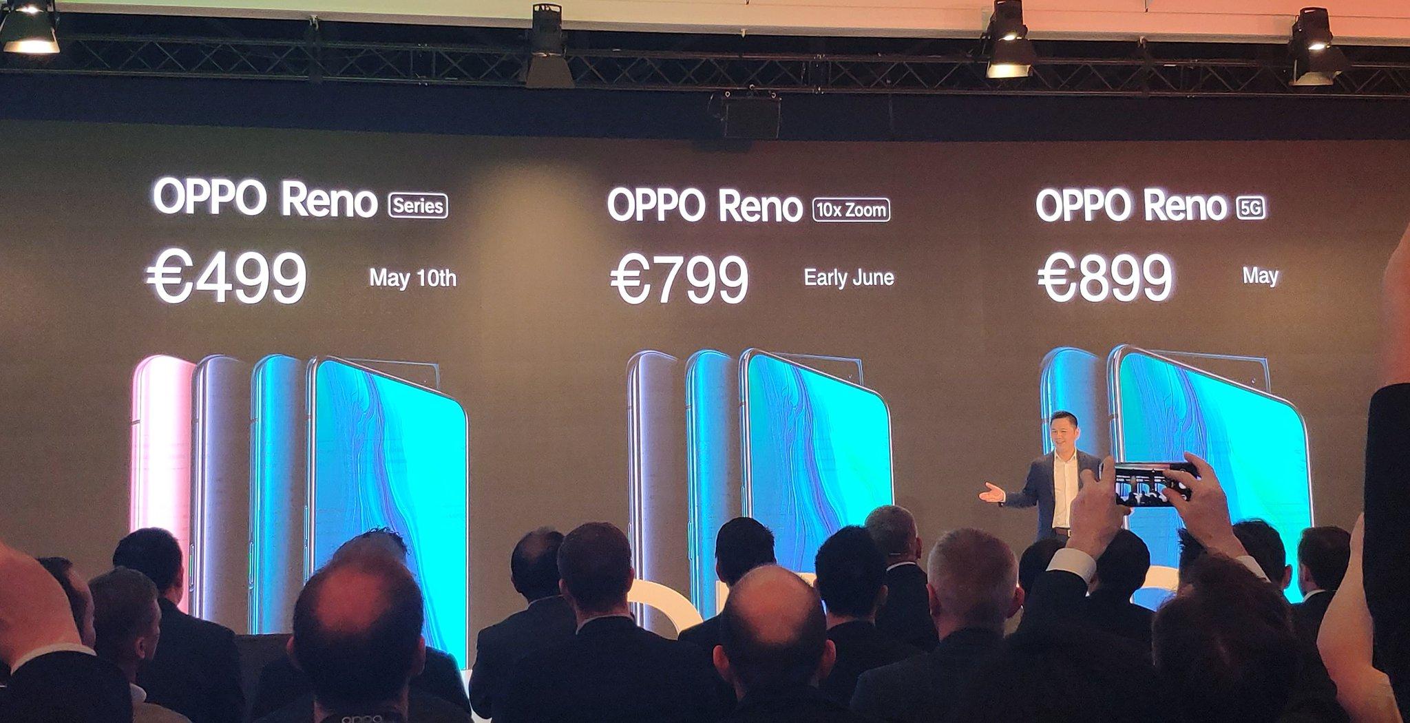 OPPO Reno price