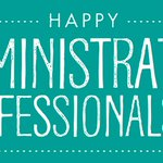 Image for the Tweet beginning: Today is Administrative Professionals Day!