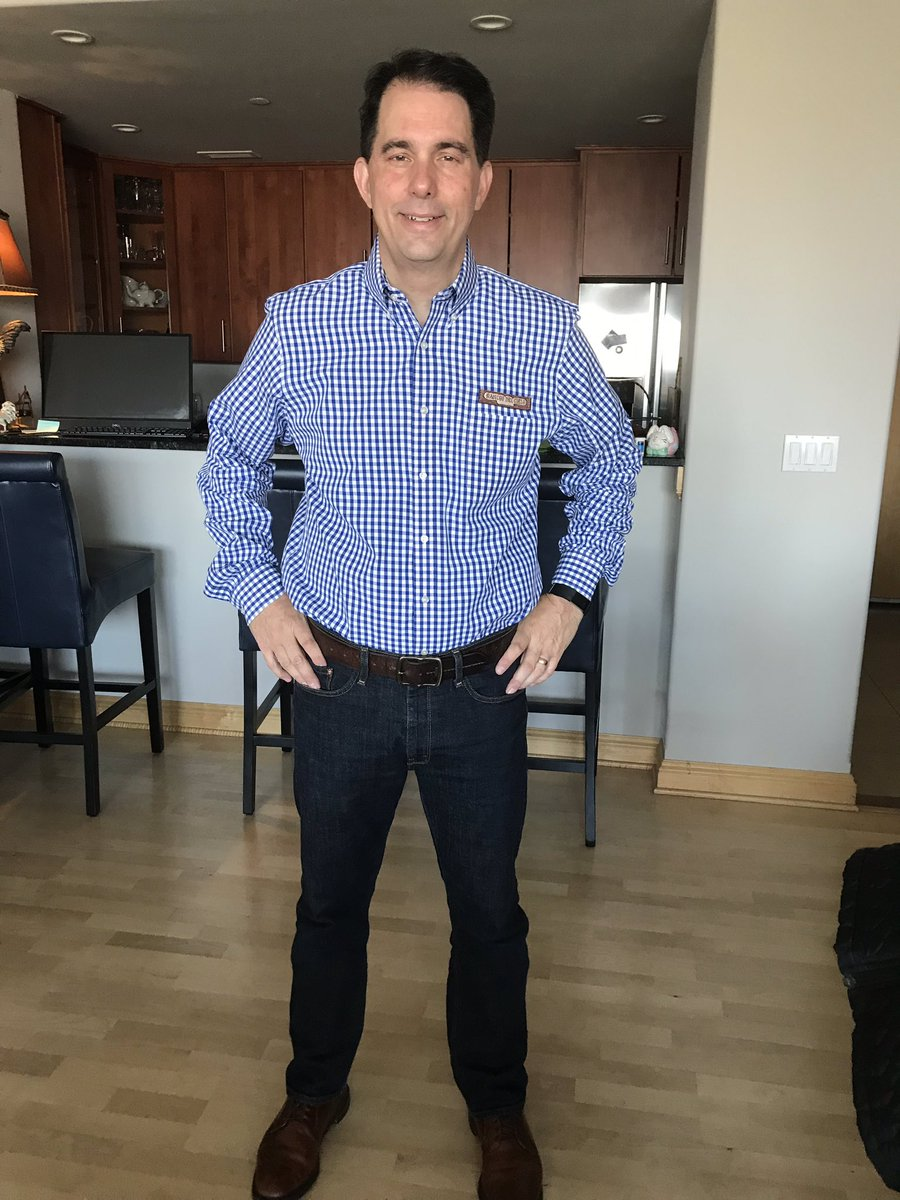 Scott Walker's photo on #DenimDay