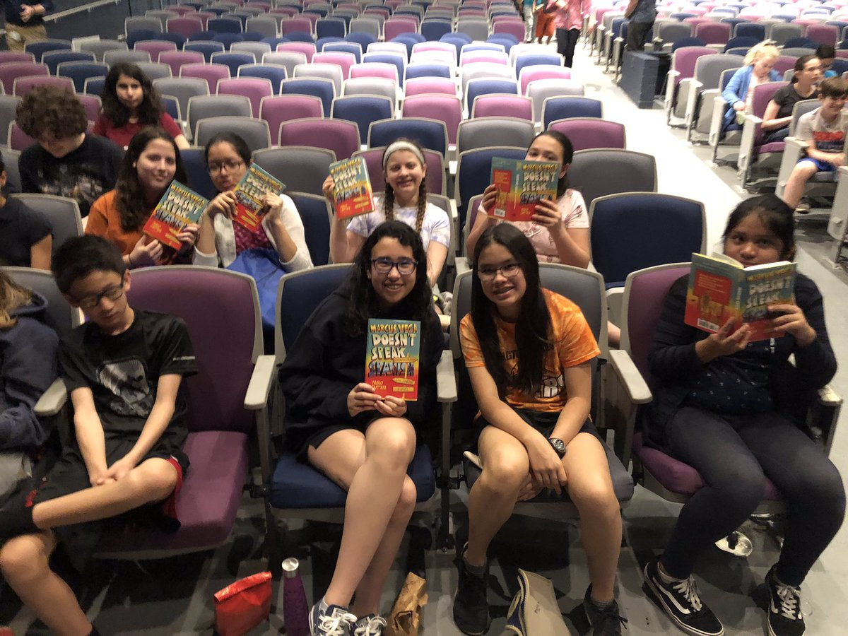 Enjoying the all TAB field trip w/Pablo Cartaya! <a target='_blank' href='http://twitter.com/APSLibrarians'>@APSLibrarians</a> <a target='_blank' href='http://twitter.com/ArlingtonVALib'>@ArlingtonVALib</a> <a target='_blank' href='http://twitter.com/JeffersonIBMYP'>@JeffersonIBMYP</a> <a target='_blank' href='http://search.twitter.com/search?q=APSisAwesome'><a target='_blank' href='https://twitter.com/hashtag/APSisAwesome?src=hash'>#APSisAwesome</a></a> <a target='_blank' href='http://search.twitter.com/search?q=tjmsreads'><a target='_blank' href='https://twitter.com/hashtag/tjmsreads?src=hash'>#tjmsreads</a></a> <a target='_blank' href='http://search.twitter.com/search?q=allTAB'><a target='_blank' href='https://twitter.com/hashtag/allTAB?src=hash'>#allTAB</a></a> <a target='_blank' href='http://search.twitter.com/search?q=tjmsrocks'><a target='_blank' href='https://twitter.com/hashtag/tjmsrocks?src=hash'>#tjmsrocks</a></a> <a target='_blank' href='https://t.co/6faoWFWaa1'>https://t.co/6faoWFWaa1</a>