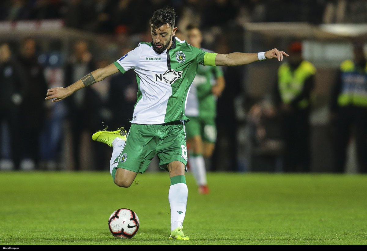 24 year old Bruno Fernandes, for Sporting this season: Matches: 48 Goals: 28 Assists: 15 He has now beaten Frank Lampards record of 27 goals, in a single season, from midfield! 🇵🇹🇵🇹🇵🇹