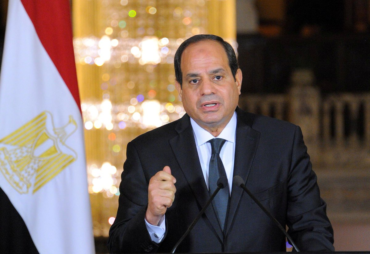 #Sisi took power of #Egypt after a coup in 2013. The Egyptian president has led a crackdown on dissent ever since he took office. Can Sisi put a complete lid on dissent in a nation of 100 million people? #F24Debate