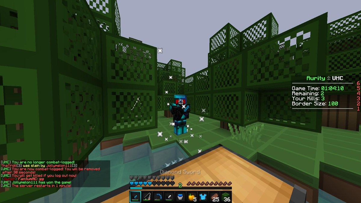 331st Reddit Win on Aurity UHC Tweet added by Jollymelon111