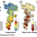 """ICYMI: Recent pub: """"Effects of management areas, drought, and commodity prices on groundwater decline patterns across the High Plains Aquifer"""" led by @Ogallala_water team member @HydroHaacker & @MSUHydro colleagues. https://t.co/r89xYuJd6f"""