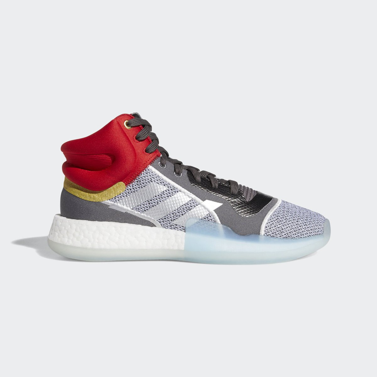 "best sneakers d8f44 bc441 ... and ""Thor"" Marquee Boost, releasing in the  Marvel x  adidasHoops  Avengers Pack this Friday, April 26. Sign up for email updates direct from  adidas  ..."