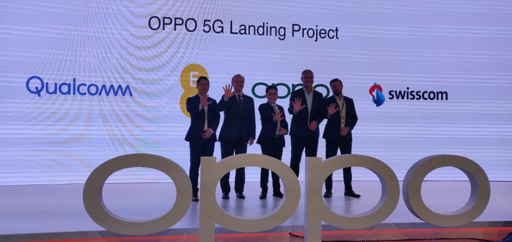 OPPO 5G landing project