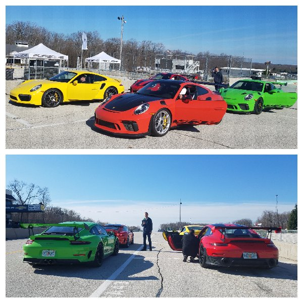 Ready to rumble: at Elkhart Lake w @Porsche GT2 RS and GT3 RS. @DetroitNews